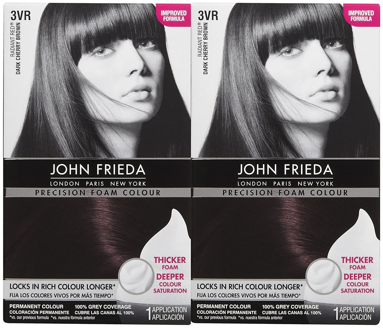 Amazon John Frieda Precision Foam Hair Colour Deep Cherry