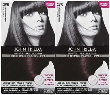 Amazon Com John Frieda Precision Foam Hair Colour Deep Cherry