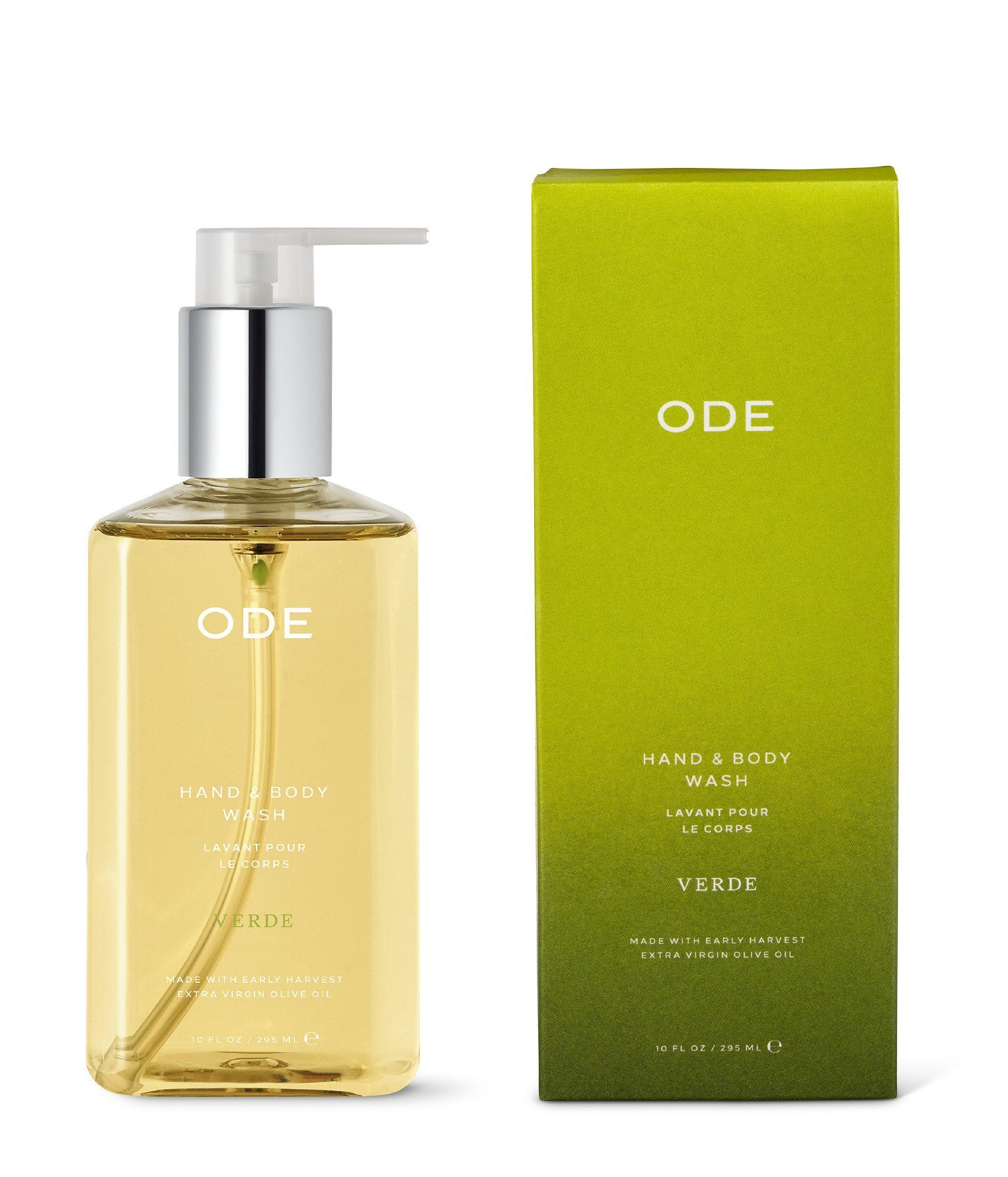 ODE natural beauty - Verde Hand & Body Wash