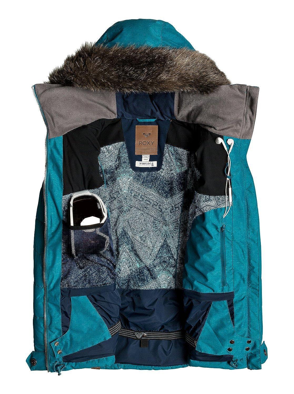 Roxy Quinn - Chaqueta para Nieve para Mujer ERJTJ03111: Roxy: Amazon.es: Ropa y accesorios