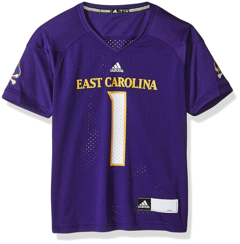 Small Collegiate Purple adidas NCAA East Carolina Pirates Adult Women Womens Football Jersey