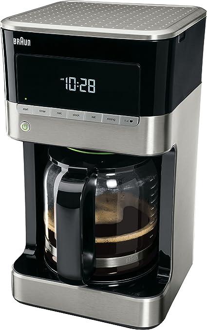 Braun KF 7120 Cafetera eléctrica semi-automática con jarra de ...