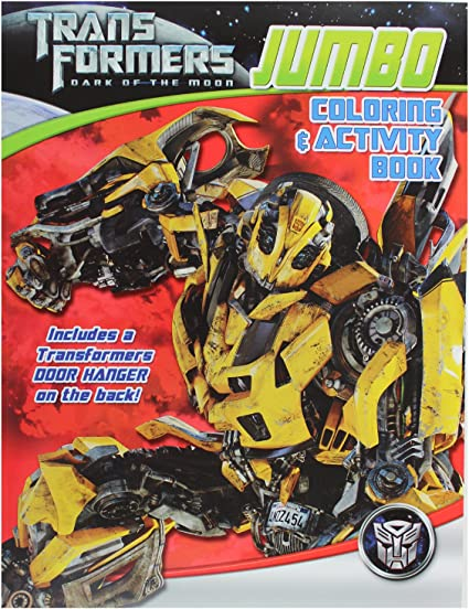 - Amazon.com: Transformers Coloring And Activity Book (Assorted)- Assorted  Transformers Activity Book: Toys & Games