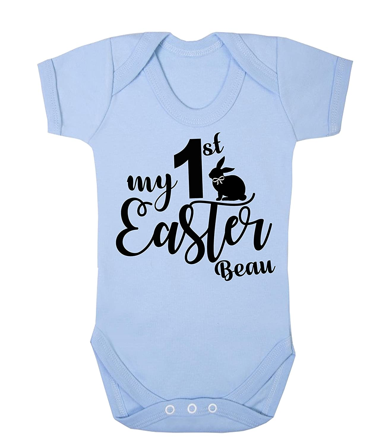 Personalised My First Easter Baby Vest New Baby Gifts Newborn baby Gifts Personalised Babywear Baby Firsts Boys Easter Baby Outfit