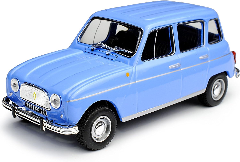 Alles Meine De Gmbh Renault 4 Blau 1961 1992 Mit Sockel 1 43 Modellcarsonline Modell Auto Spielzeug