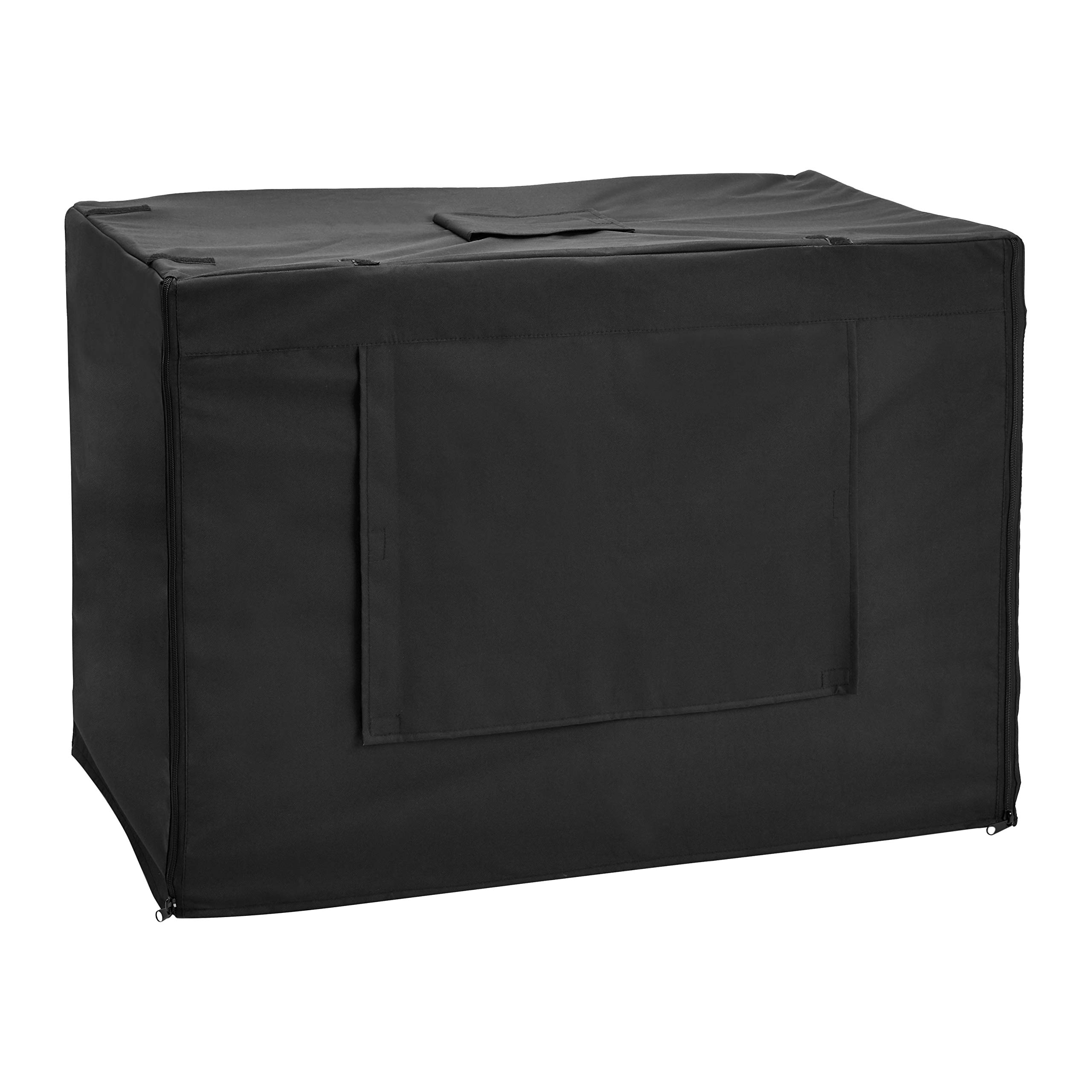 AmazonBasics Dog Crate Kennel Cover - 36 Inch, Black by AmazonBasics