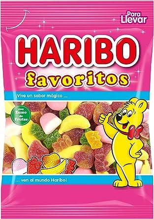 Haribo - Favoritos - Caramelos de goma - 90 g - , Pack de 6: Amazon.es: Alimentación y bebidas