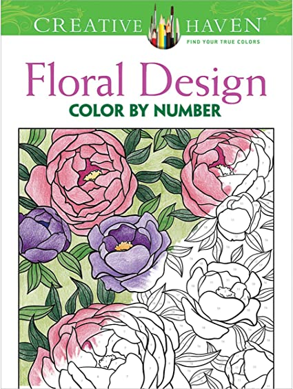 - Amazon.com: Dover DOV-3850 Creative Haven Floral Design Publications  Coloring Book: Mazurkiewicz, Jessica: Arts, Crafts & Sewing