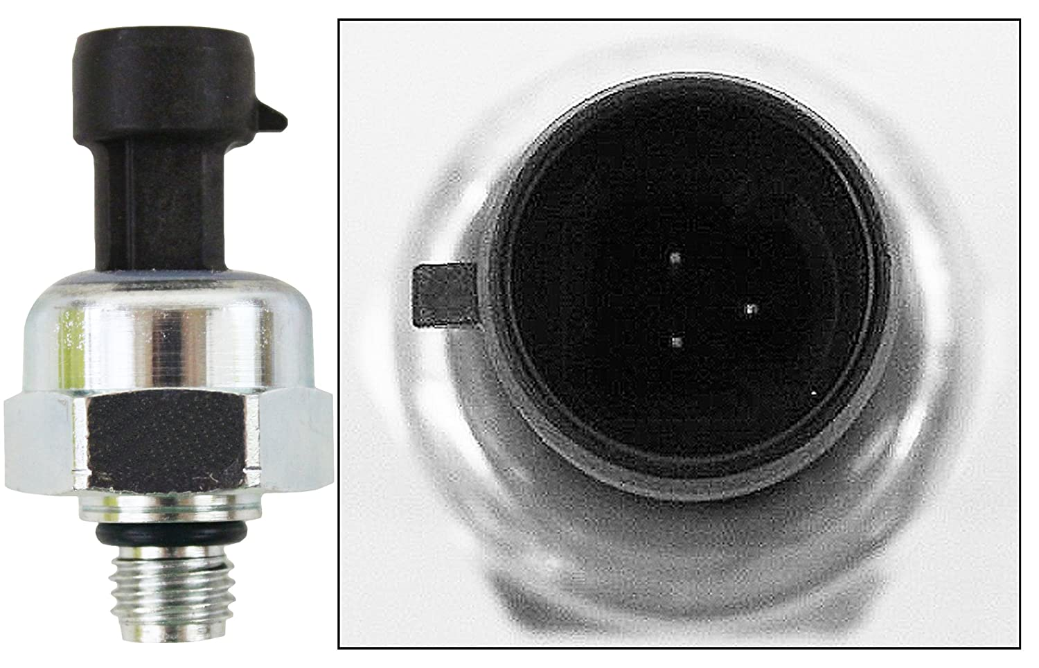 APDTY 112842 ICP Fuel Injector Injection Pressure Sensor Fits 2003-2004 Ford or International Trucks With 6.0L Diesel Engine (Replaces Ford 3C3Z9F838EA, 1845274C92, ICP103, AP63407) NCOREDSHKF5488