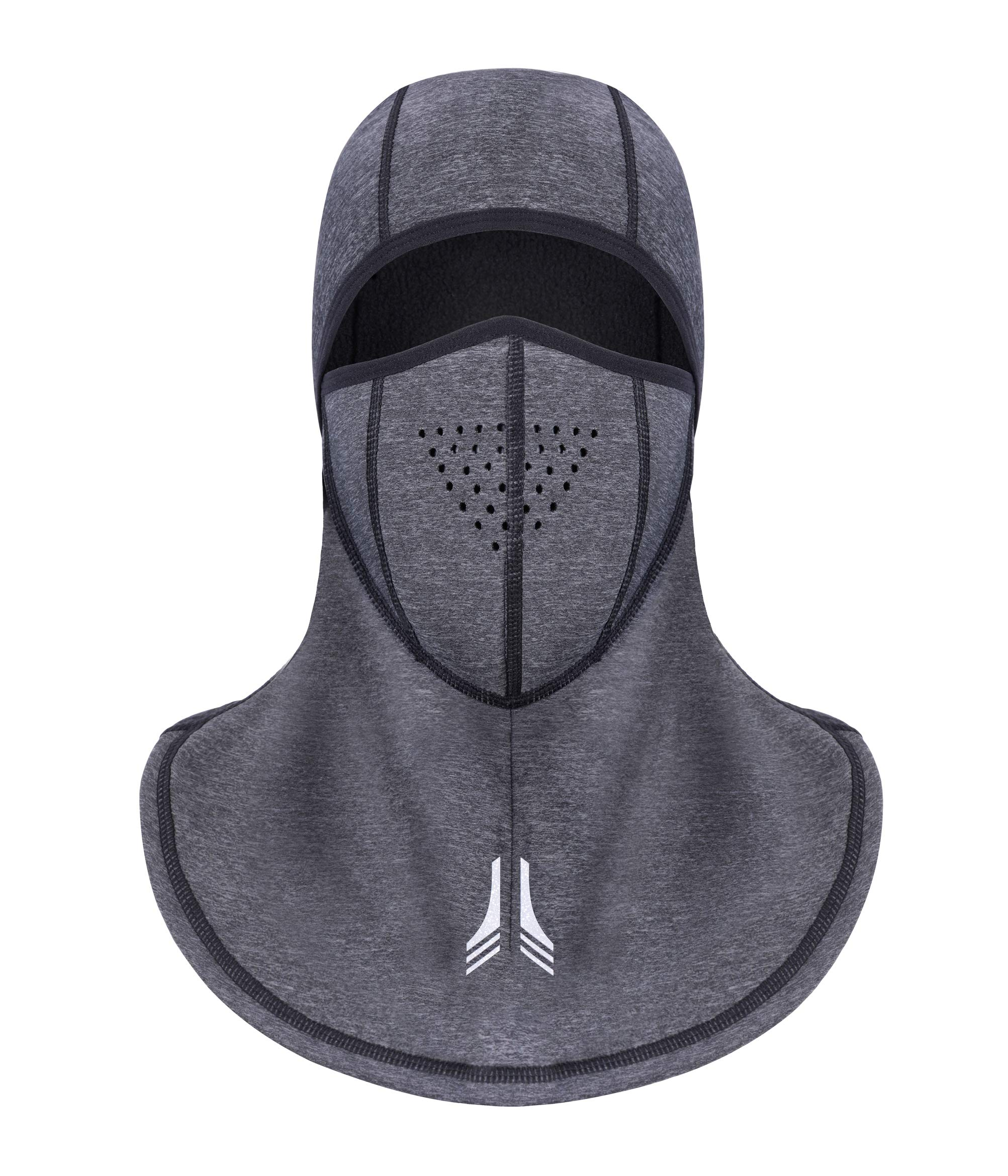 KATEGY Windproof Balaclava Face Mark, Cold Weather Face Motorcycle Mask Winter Cycling Waterproof Mask Windproof Ski Mask Full Cover Thermal for Men Skiing,Cycling,Outdoor Sports - Snowflake