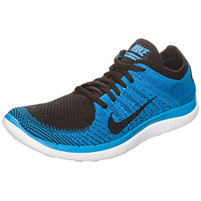 new arrivals 03784 d4281 Nike 631053 005 Free Flyknit 4.0 Men s Running Trainers Blue Size  ...