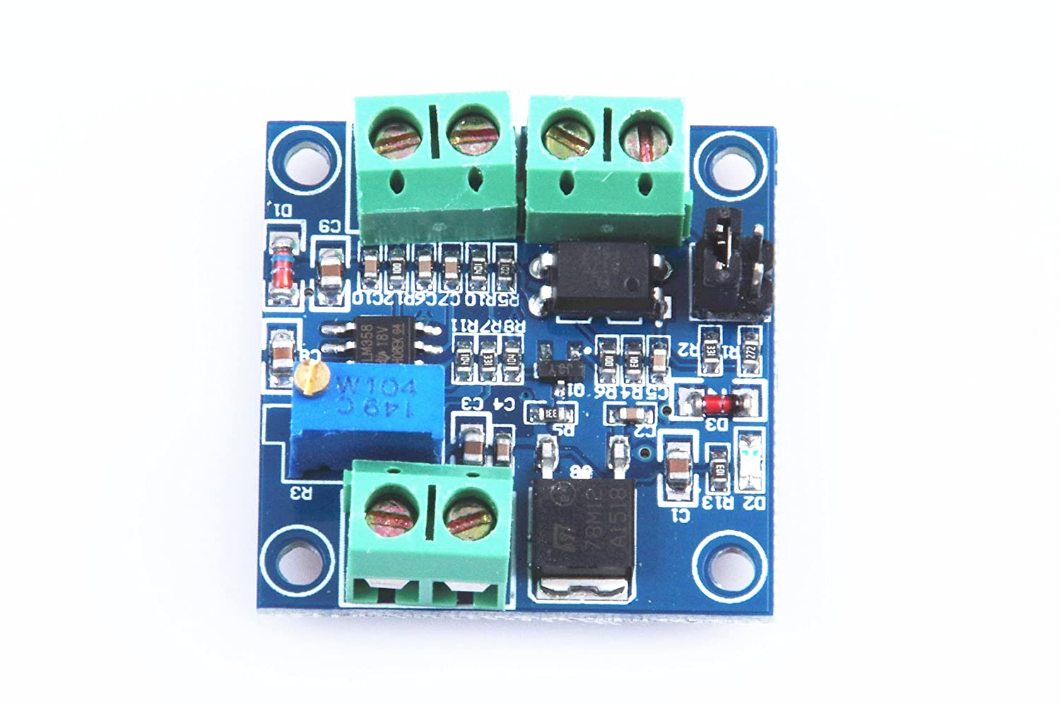 XINY PWM-to-Voltage Module/0% -100% PWM Converted to 0-10V Voltage EXPSFD005844