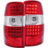 Anzo USA 311100 Chevrolet/GMC Yukon Denali G2 Red/Clear LED Tail Light Assembly - (Sold in Pairs)