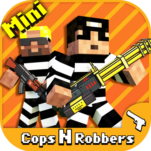 Cops N Robbers  Fps    Mine Mini Game With Survival Multiplayer Free