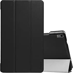 "ProCase Lenovo Tab 4 8 Plus Case, Slim Stand Hard Shell Smart Cover Case for 2017 Lenovo Tab 4 8"" Plus Android Tablet ZA2H0000US -Black"