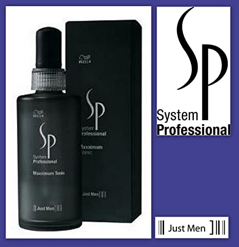 Wella System Professional Men Maxximum Tonic intensive 100ml - tonico anticaida