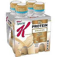 Special K Protein Shakes, French Vanilla, Gluten Free, 10 fl oz Bottles (4 Count)