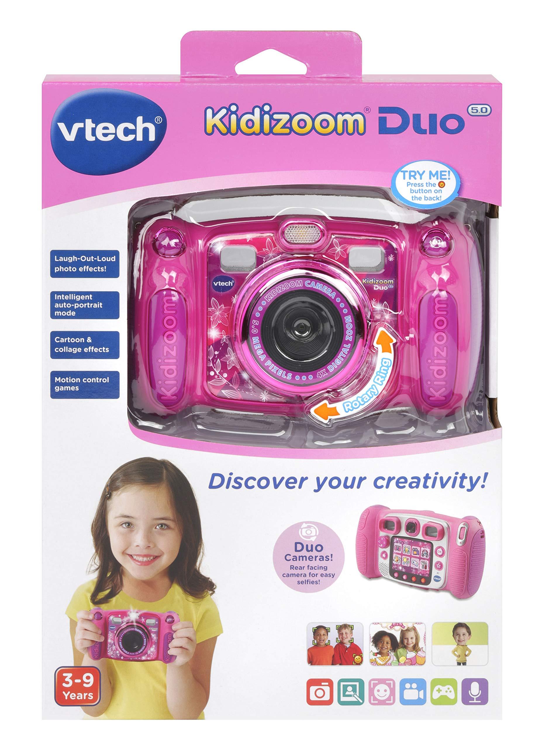 VTech Kidizoom Duo 5.0 Camera Pink by VTech (Image #4)