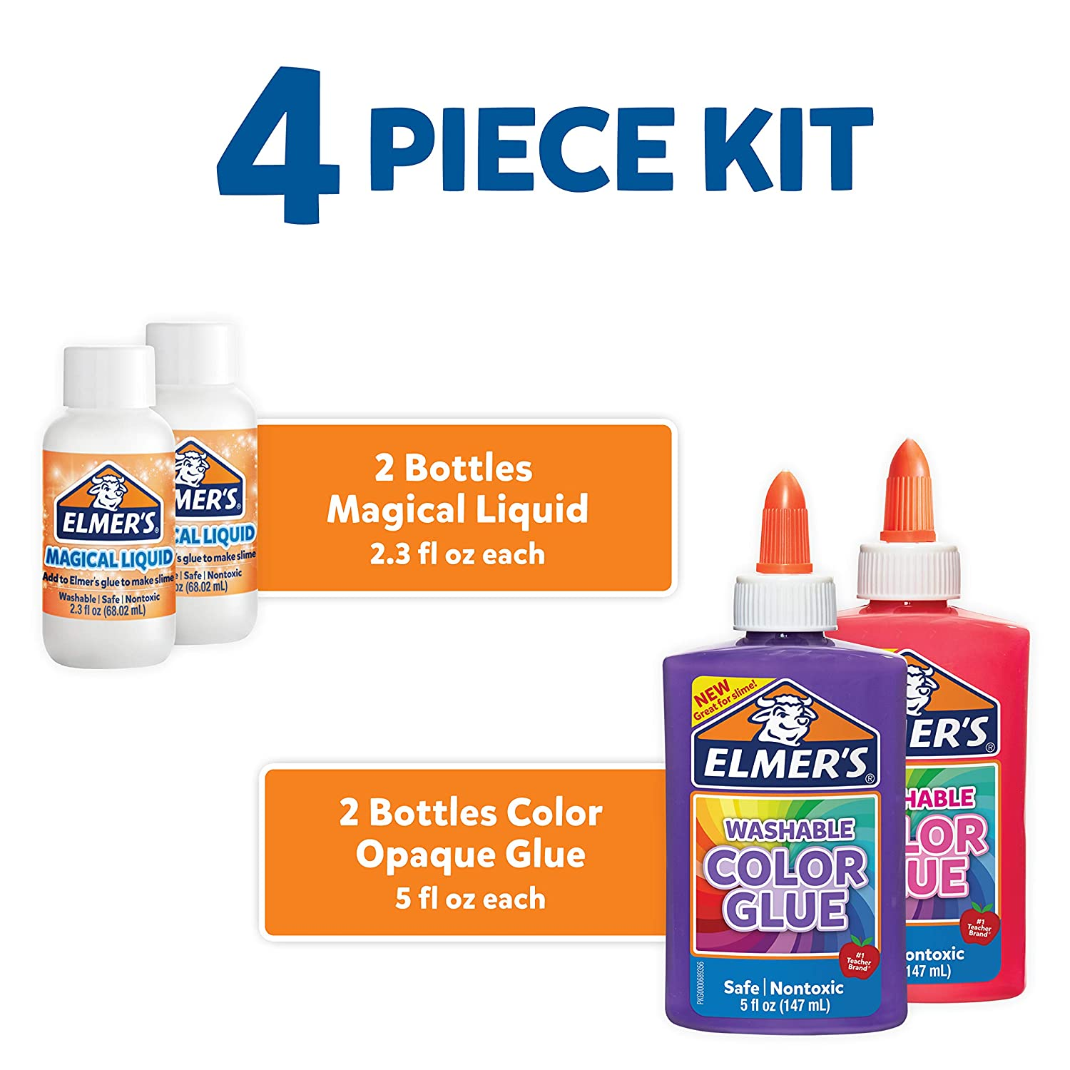 Elmer Color Slime Kit 2062233