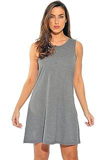 afd6328cd1d Just Love Sleeveless Trapeze Short Dress Summer Dresses for Women at ...