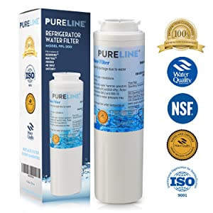 Pure Line UKF8001 PUR Fast Flow Water Filter Replacement UKF8001AXX, EDR4RXD1, Whirlpool 4396395, Puriclean II, Kenmore 9006 By Pure Line (1)