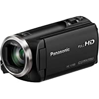 Panasonic HC-V180K Full HD 1080p Camcorder with 50x Optical Zoom & 2.7
