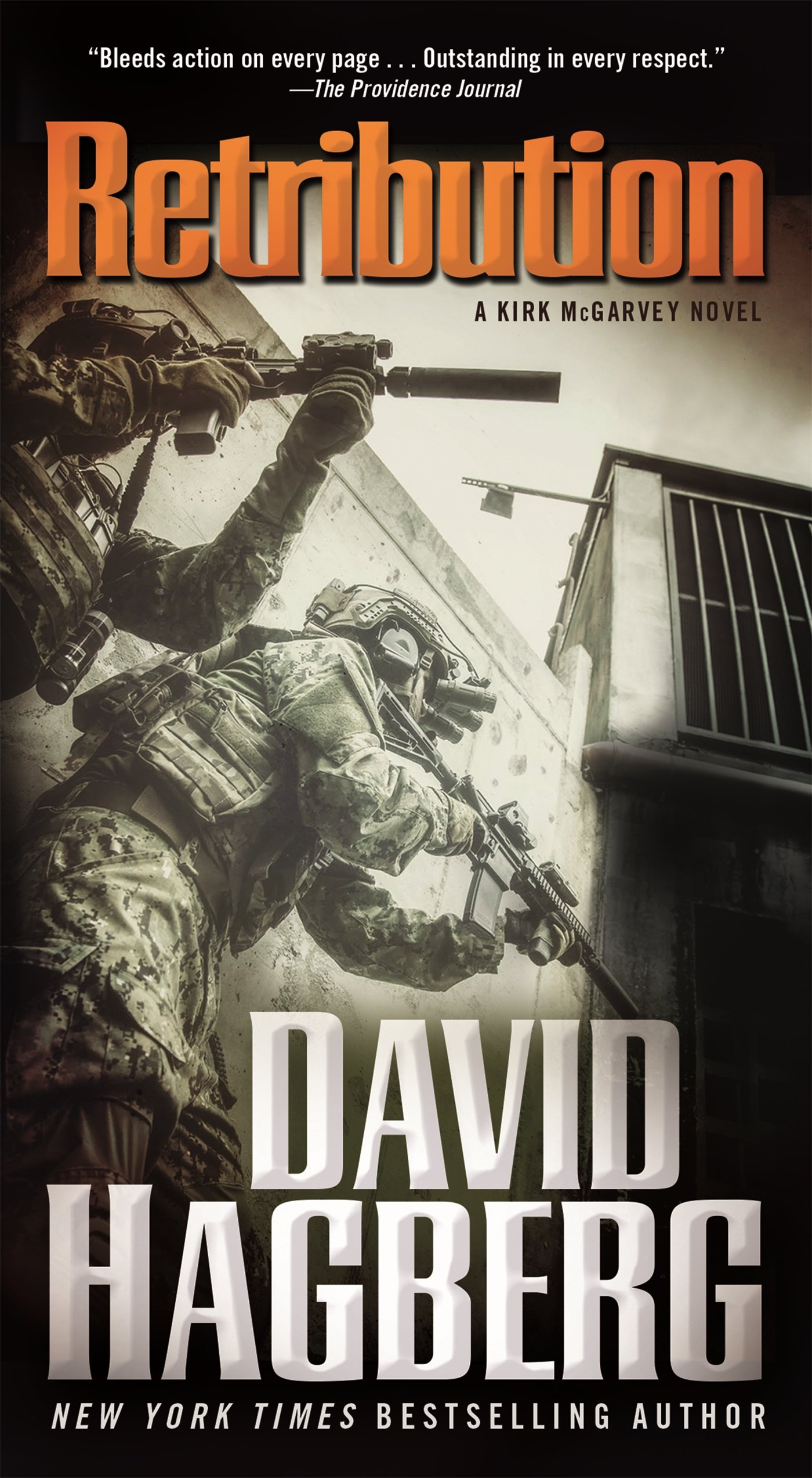Amazon Retribution A Kirk Mcgarvey Novel 9780765368478