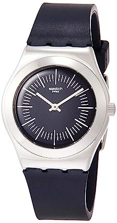 Swatch Reloj Analógico para Mujer de Cuarzo con Correa en Caucho YLS202: Swatch: Amazon.es: Relojes