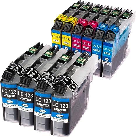 10 Compatibles XL Cartuchos de Tinta con el más nuevo V3 Chip para ...