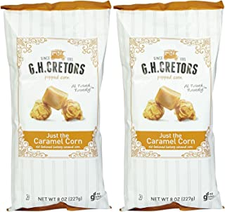 product image for G.H. Cretors Just The Caramel Corn Popcorn, 8 oz, 2 pk