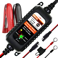 MOTOPOWER MP00205A 12V 800mA Fully Automatic Battery Charger/Maintainer