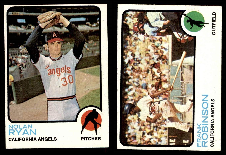 1973 Topps California Angels Team Set California Angels (Baseball Set) Dean's Cards 6 - EX/MT Angels 817dF7g-T5LSL1500_