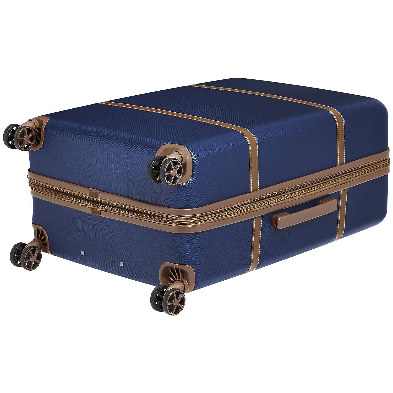 Basics Vienna Bleu marine Valise rigide /à roulettes pivotantes 78 cm