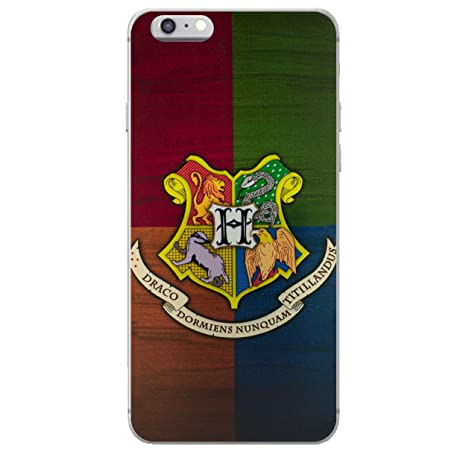 iPhone 6 Plus/6s Plus Casas de Harry Potter Estuche de Silicona/Cubierta de Gel para Apple iPhone 6S Plus 6 Plus (5.5