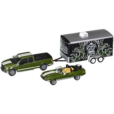 Greenlight 1: 64 Hitch & Tow Hollywood - Gas Monkey Garage 3Piece Set Diecast Vehicle: Toys & Games