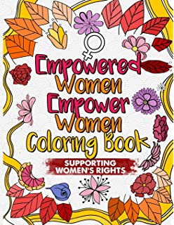 Amazon Com The Future Is Female Feminist Adult Coloring Book 30