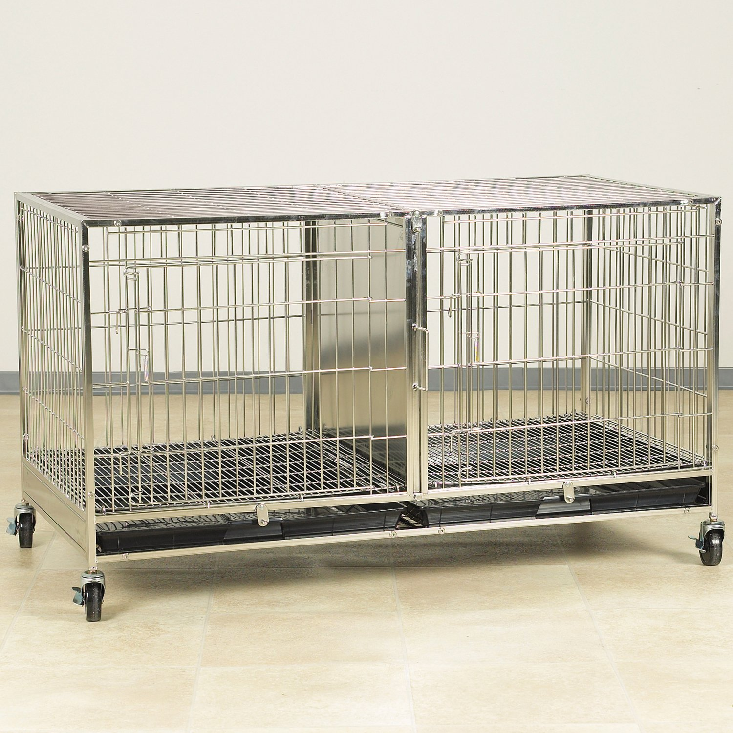 ProSelect Stainless Steel Modular Cage with Plastic Tray by Proselect (PRPQC)