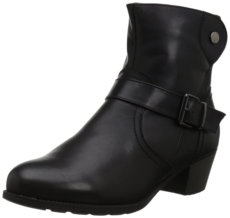 Propet Women's Tory Ankle Bootie B06XRNTG15 9.5 W US|Black