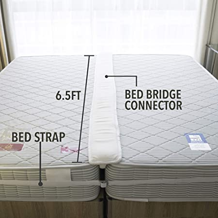 Amazon.com: FeelAtHome - Kit convertidor de puente de cama ...
