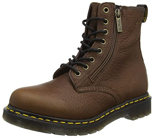 Pascal W/Zip, Botas con Cremallera, Mujer, Rosa (Soft Pink Aunt Sally), 36 EU Dr. Martens