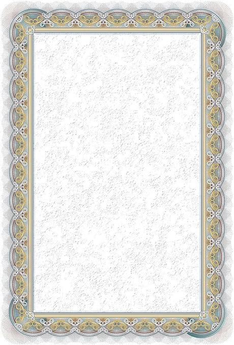 Certificats Diplômes A4 Papier Silver Lot De 25 Feuilles