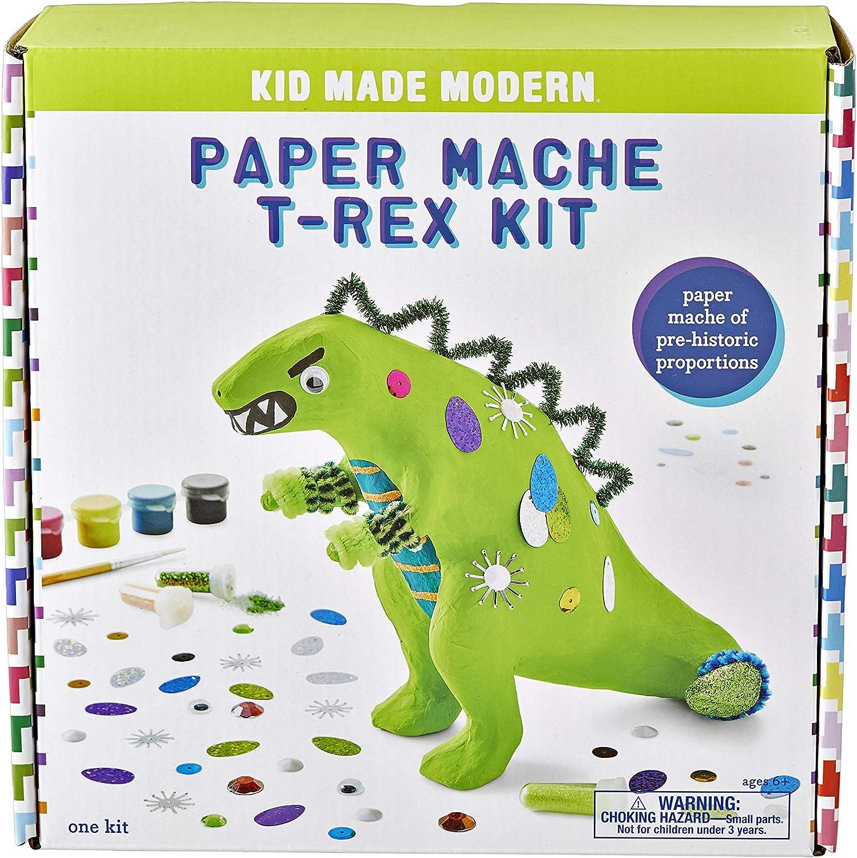National Geographic Kids Craft Kits Confettis Sculpture papier mâché Dinosaures
