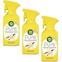 Air Wick Desodorisant Aérosol Pure Vanille 250 ml - Lot de 3