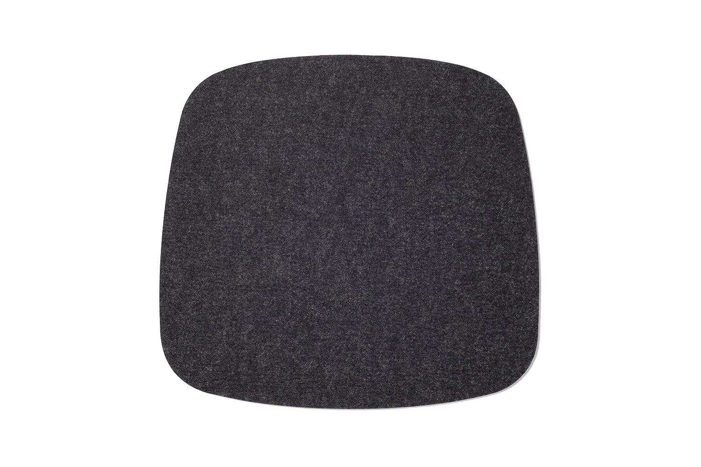 Antirutsch Stoffbeutel Hellmeliert 5 mm Hey Sign Sitzauflage Sitzkissen Filz f/ür Stuhl Eames Plastic Armchair