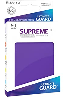 Ultimate Guard Supreme UX small Sleeves 60x gelb Yu-Gi-Oh Hüllen 62 x 89mm