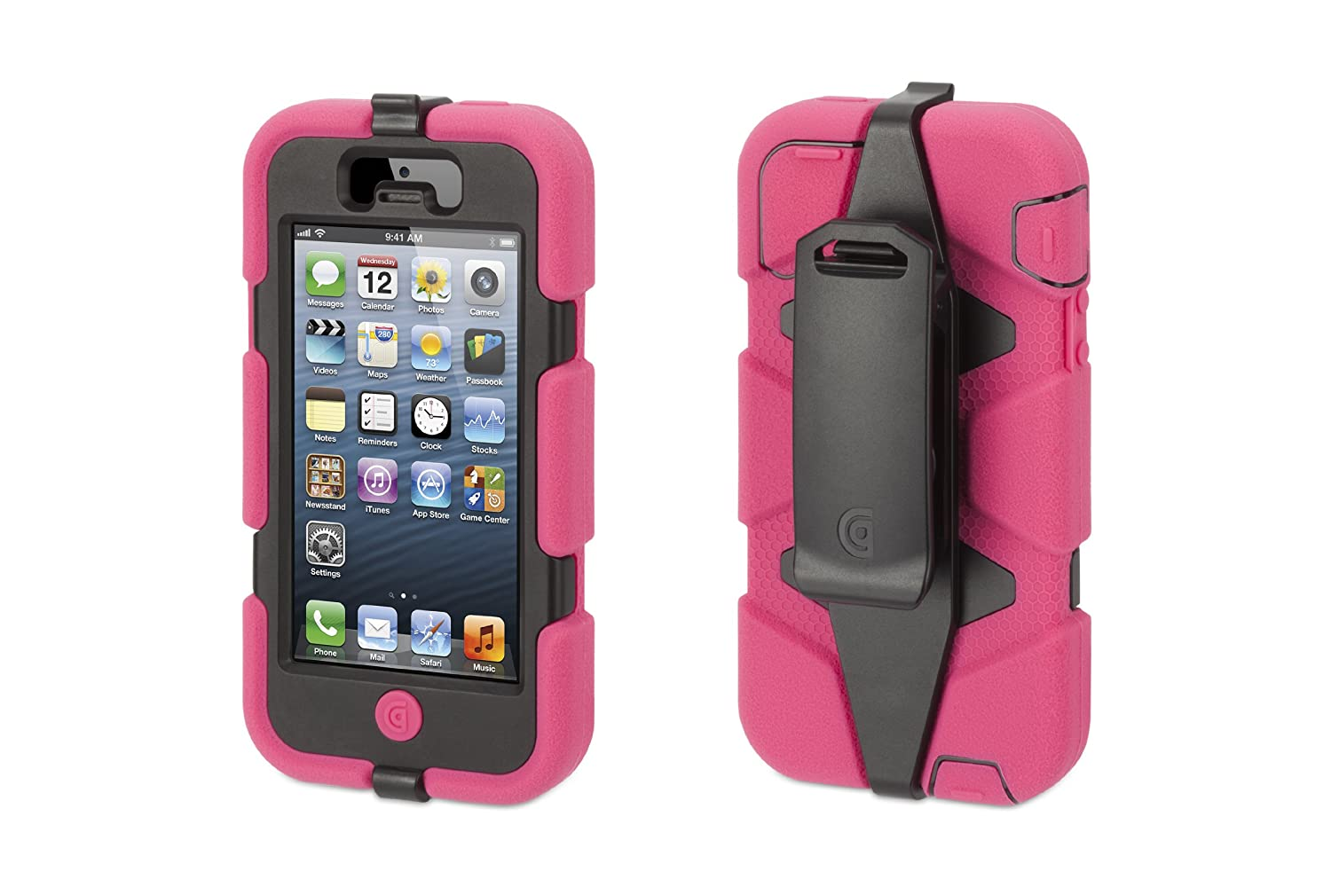 Superior Amazon.com: Griffin Survivor All Terrain Rugged Case For IPhone 5/5S, IPhone  SE, Pink/Black: Cell Phones U0026 Accessories