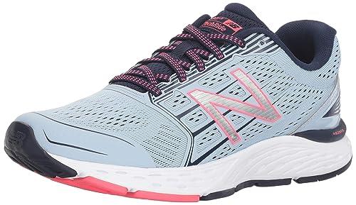 New Balance Womens 680v5 Cushioning Running Shoe, ice Blue, ...