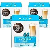 Nescafe Dolce Gusto Cappuccino Ice Coffee Capsules (48 Capsules, 24 Cups)