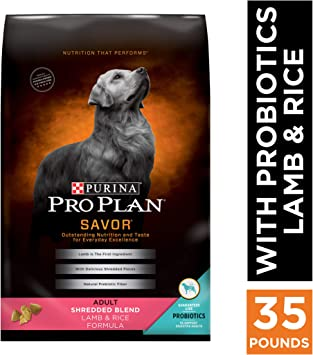 Purina Pro Plan SAVOR Shredded Blend Adult Dry Dog Food - Top Pick Dog Food for Digestive Problems