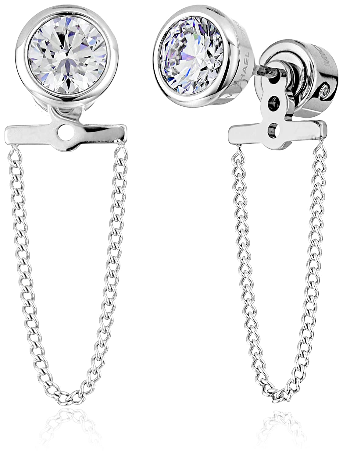 d893cdeb1 Michael Kors Brilliance Silver Drop Stud Earrings: Amazon.ca: Jewelry